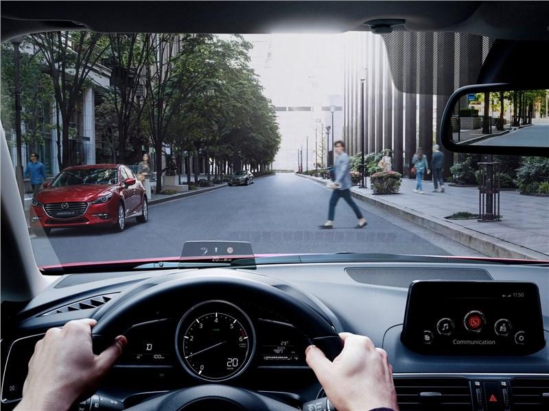 Mazda 3 2017 водительское место