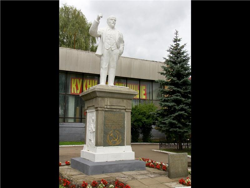 Первый в мире памятник В.И. Ленину открыт 22 января 1924 г.