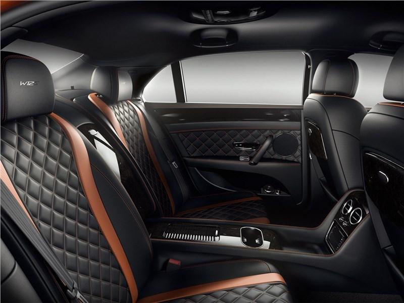 Bentley Flying Spur W12 S 2017 задний диван