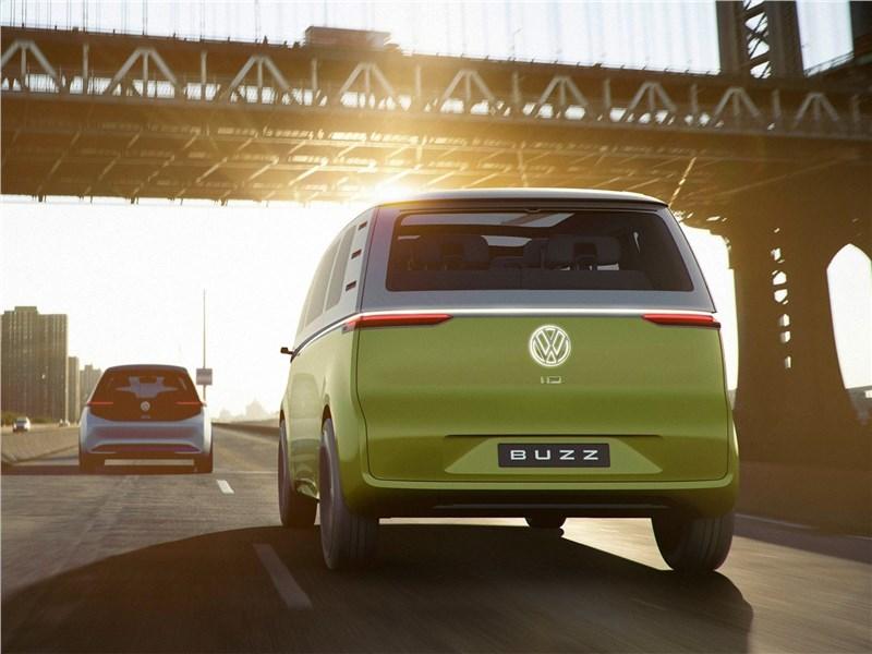 Volkswagen ID Buzz Concept 2017 вид сзади