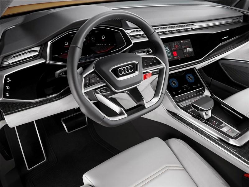 Audi Q8 Sport Concept 2017 салон