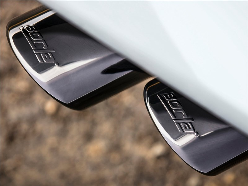 Chevrolet Tahoe RST 2018 выпускная система Borla