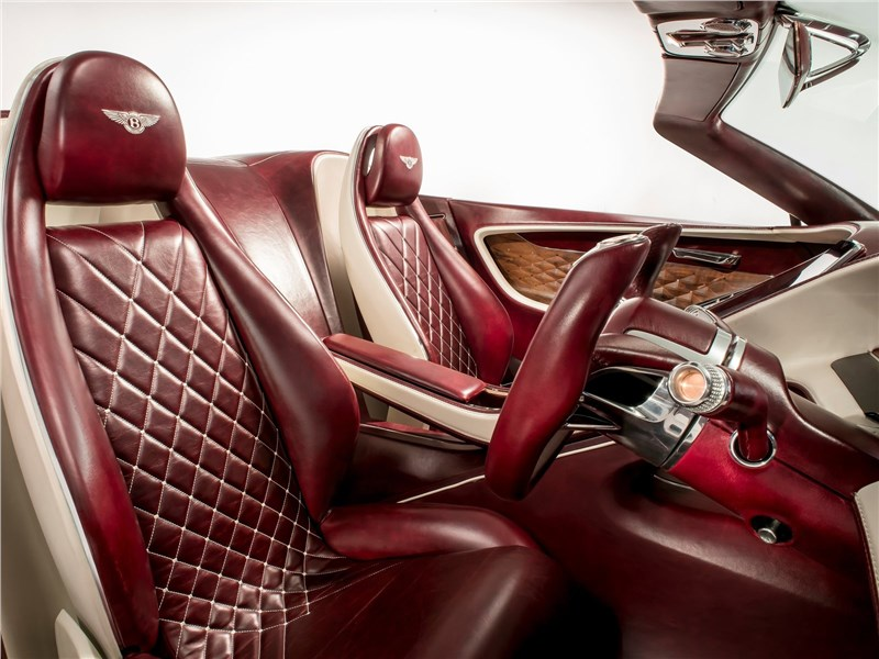 Bentley EXP 12 Speed 6e Concept 2017 передние кресла