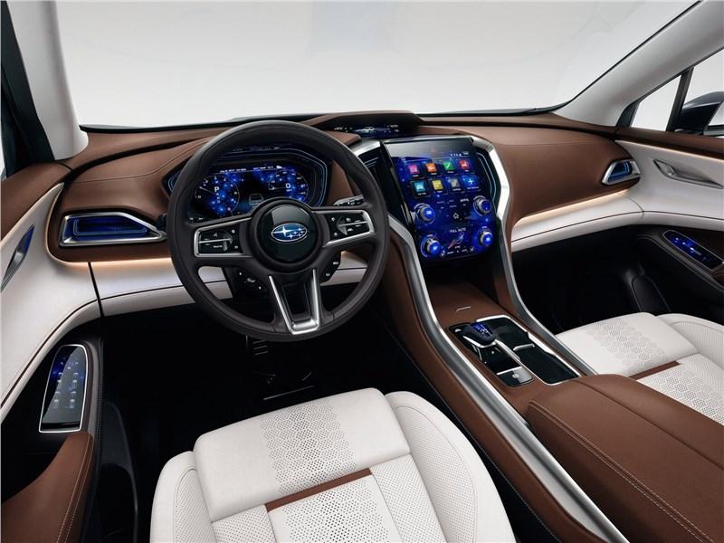 Subaru Ascent SUV Concept 2017 салон