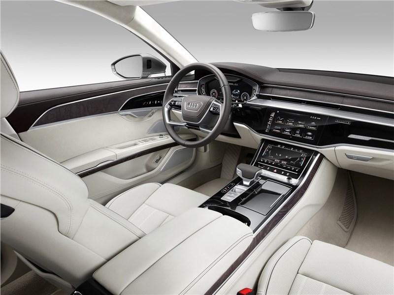 Audi A8 L 2018 салон