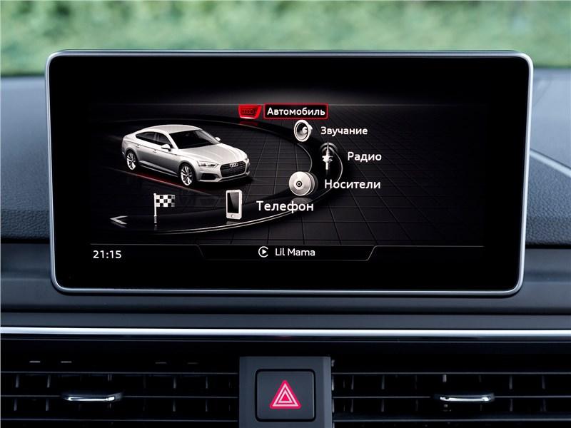 Audi A5 Sportback 2017 монитор