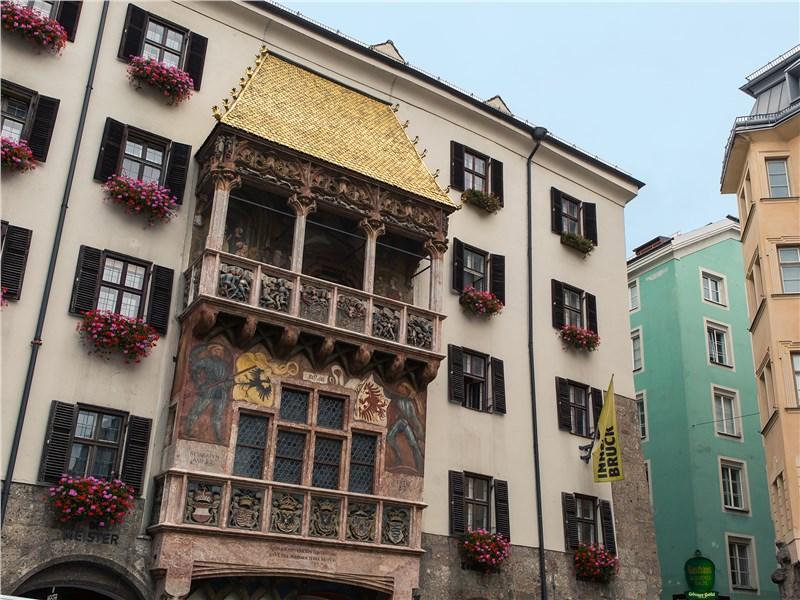Дом с золотой крышей – один из главных символов Инсбрука