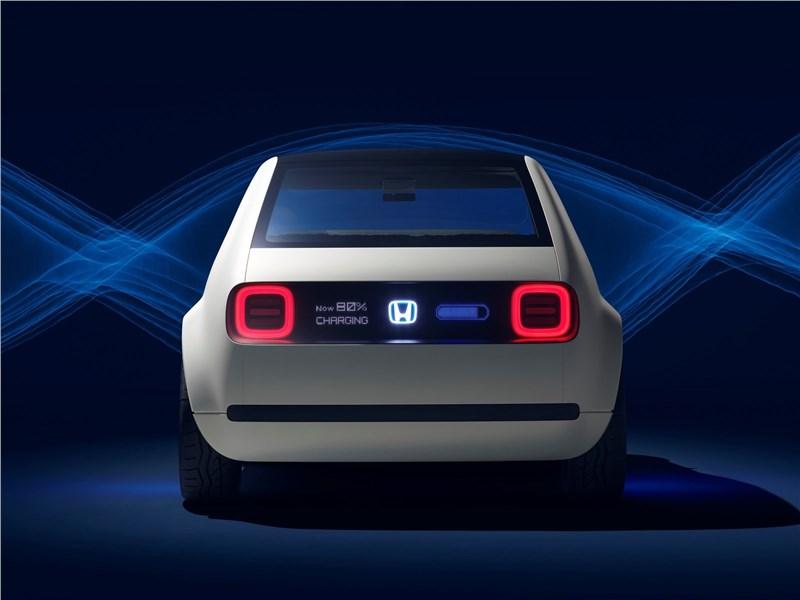 Honda Urban EV Concept 2017 вид сзади