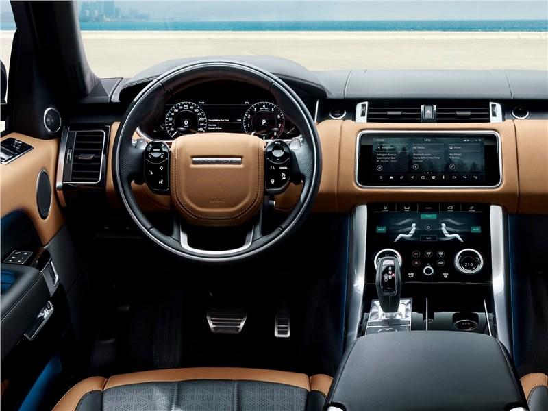 Land Rover Range Rover Sport 2017 салон