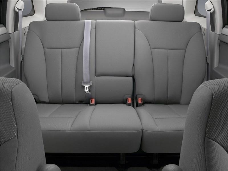 Chrysler Pacifica 2007 диван второго ряда