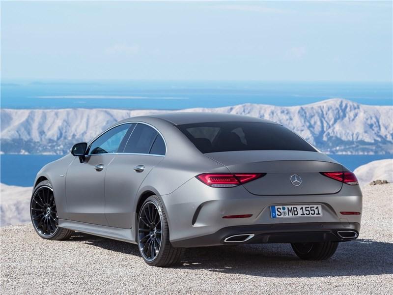 Mercedes-Benz CLS 2019 вид сзади