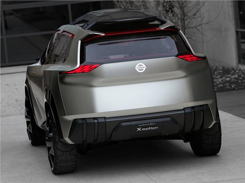 Nissan Xmotion Concept 2018 вид сзади