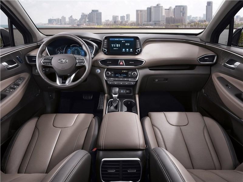 Hyundai Santa Fe 2019 салон