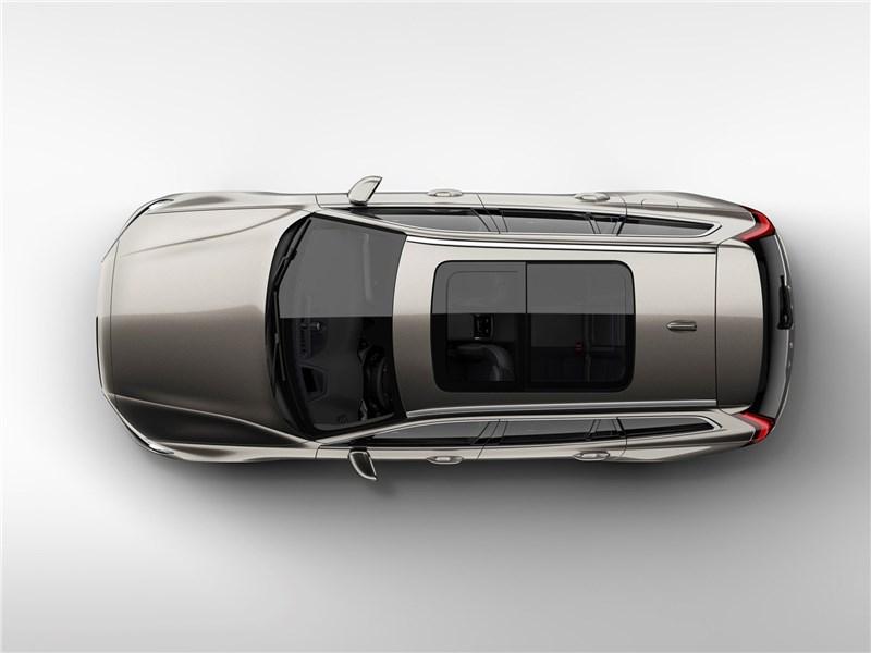 Volvo V60 2019 вид сверху