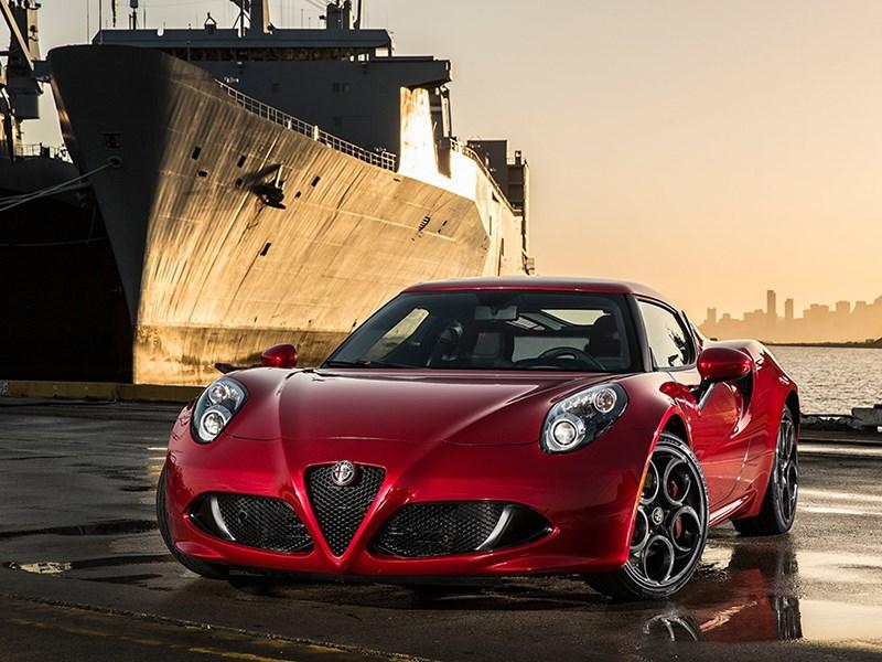 Alfa Romeo сняла с производства купе 4C