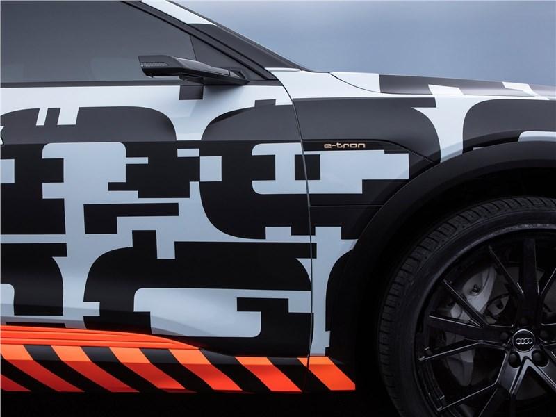Audi e-tron Concept 2018 колесо