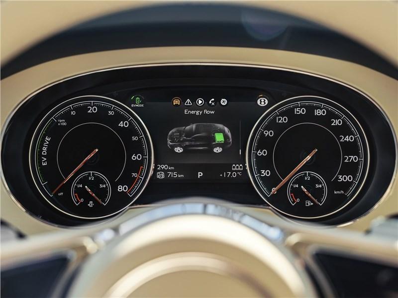 Bentley Bentayga Hybrid 2019 приборная панель