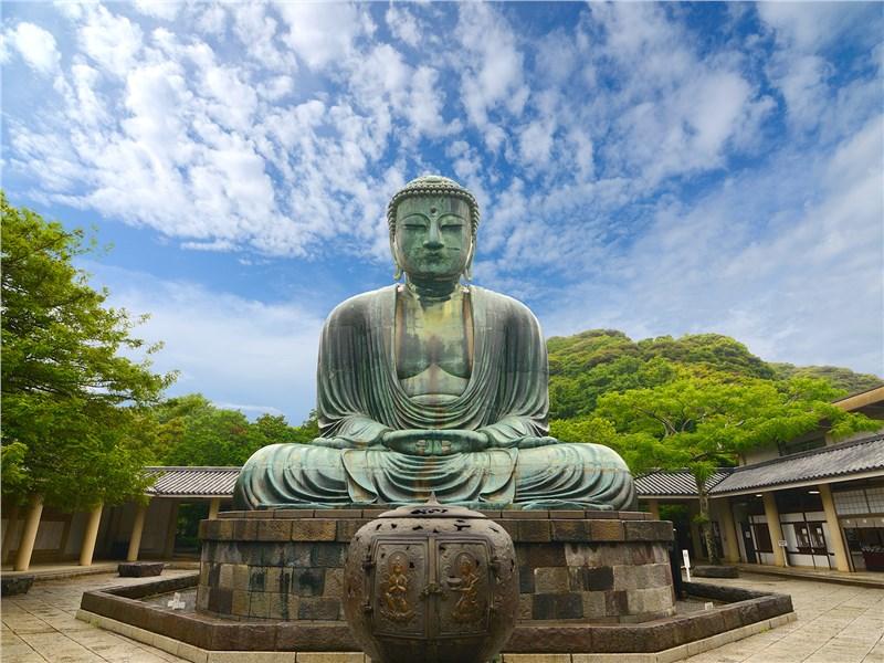 статуя Великого Будды в Котоку-ин