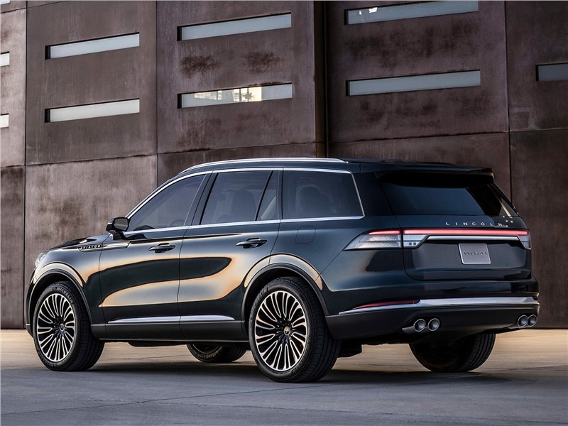 Lincoln Aviator Concept 2018 вид сзади