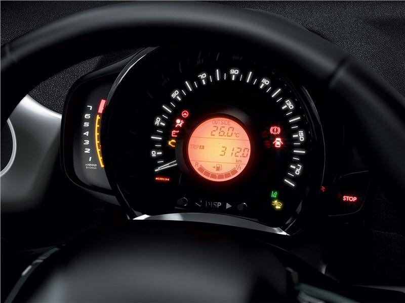 Peugeot 108 2019 приборная панель