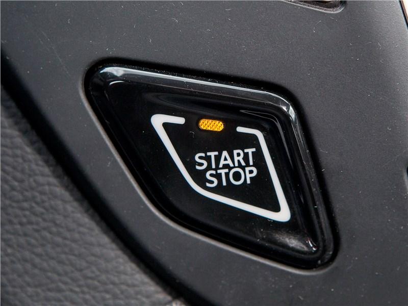 """Dongfeng AX7 2015 кнопка """"старт-стоп"""""""