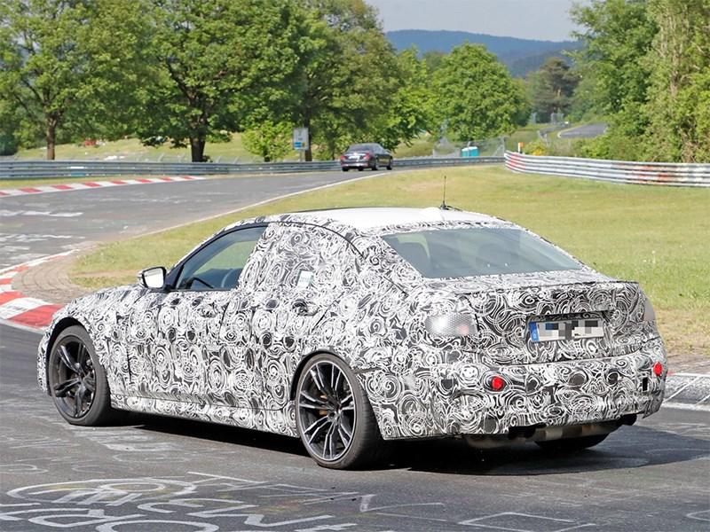 Новый BMW M3 поймали на Нюрбургринге Фото Авто Коломна