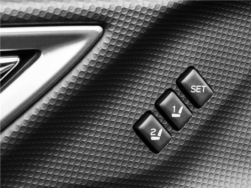 Subaru Forester 2019 кнопки памяти положения водительского кресла