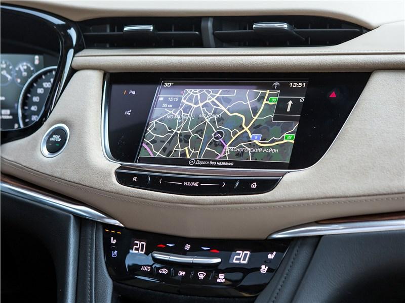 Cadillac XT5 2017 центральная консоль