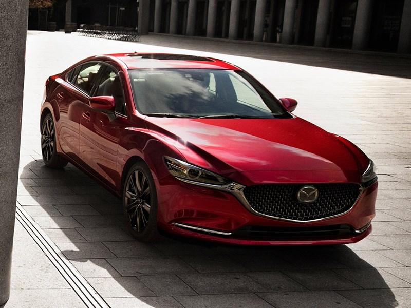 В России начали собирать обновленную Mazda 6 Фото Авто Коломна