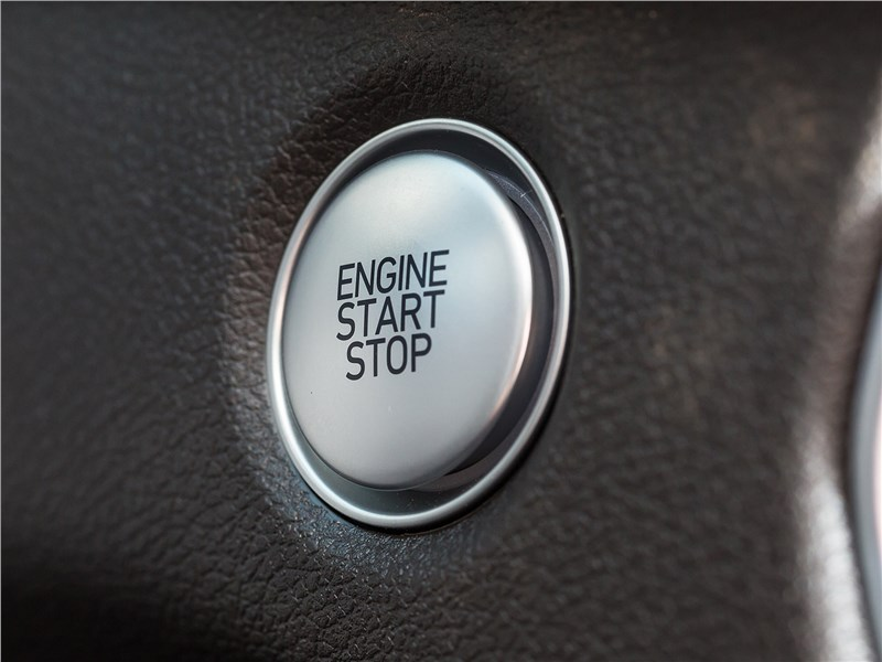 "Hyundai Santa Fe 2019 кнопка ""стар-стоп"""