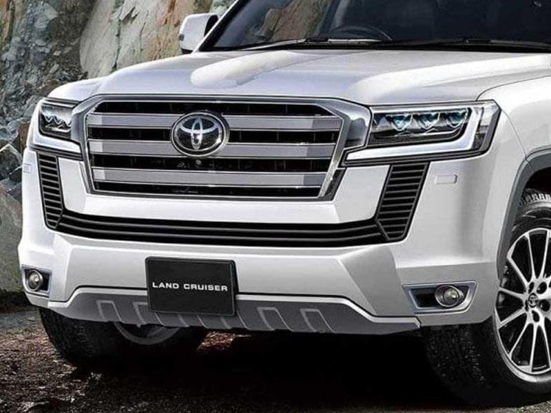 Toyota Land Crusier: раскрыта гамма двигателей