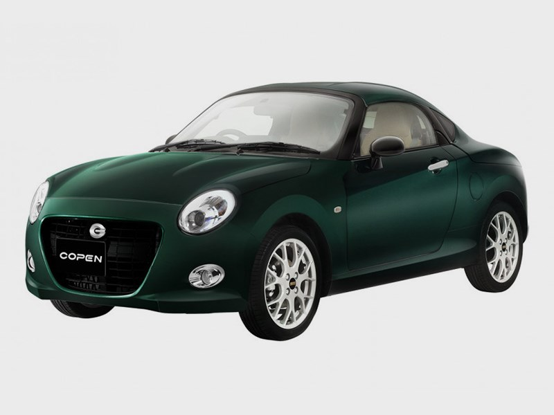 Маленький Daihatsu Copen превратили в купе