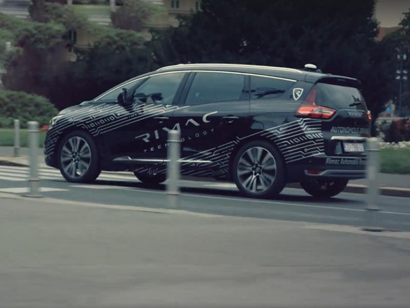 Rimac начал испытания систем автономного вождения Фото Авто Коломна