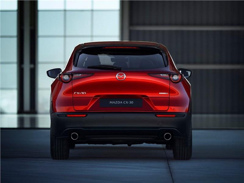 Mazda CX-30 2020 вид сзади