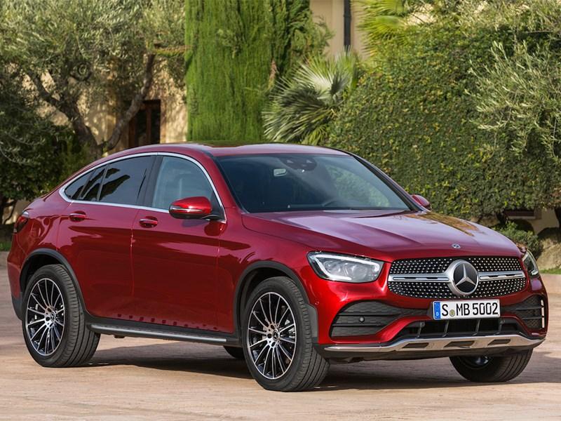 Mercedes-Benz GLC Coupe представлен официально