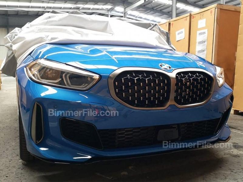 Новый BMW 1 Series представлен, но не полностью Фото Авто Коломна