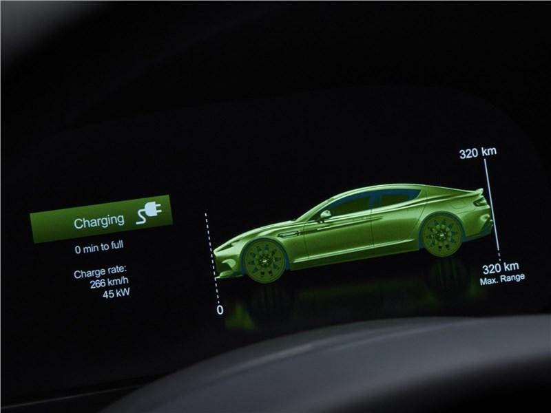 "Aston Martin Rapide E 2020 ""пора на зарядку"""