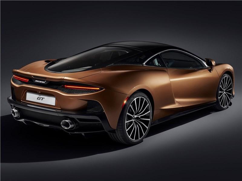 McLaren GT 2020 вид сзади