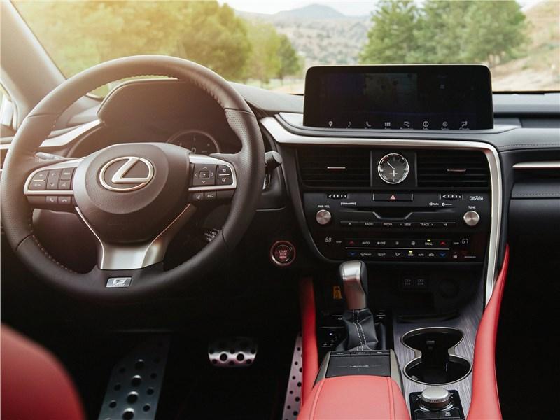 Lexus RX 2020 водительское место