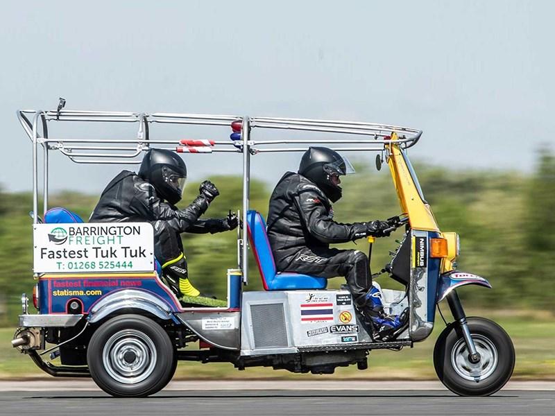 Установлен рекорд скорости на Тук Туке Фото Авто Коломна