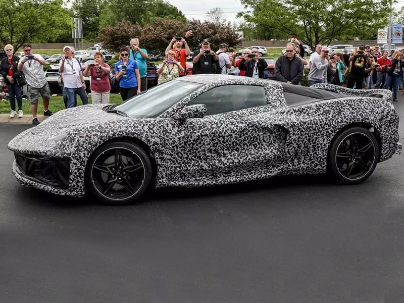 Новый Corvette будет защищён от чип тюнинга Фото Авто Коломна