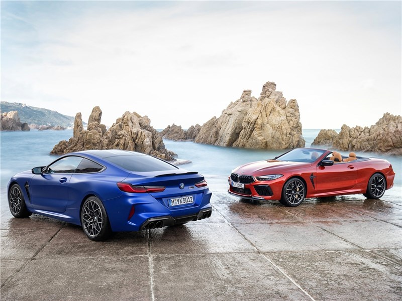 BMW M8 Competition Coupe и Convertible 2020