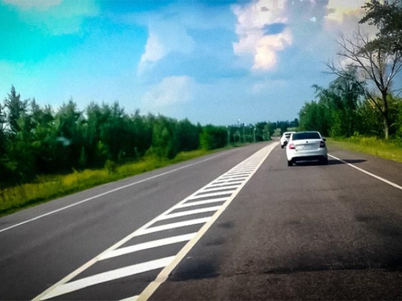 Воронежская 40-километровая сплошная не согласована с ГИБДД