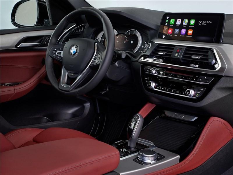 BMW X4 2019 салон