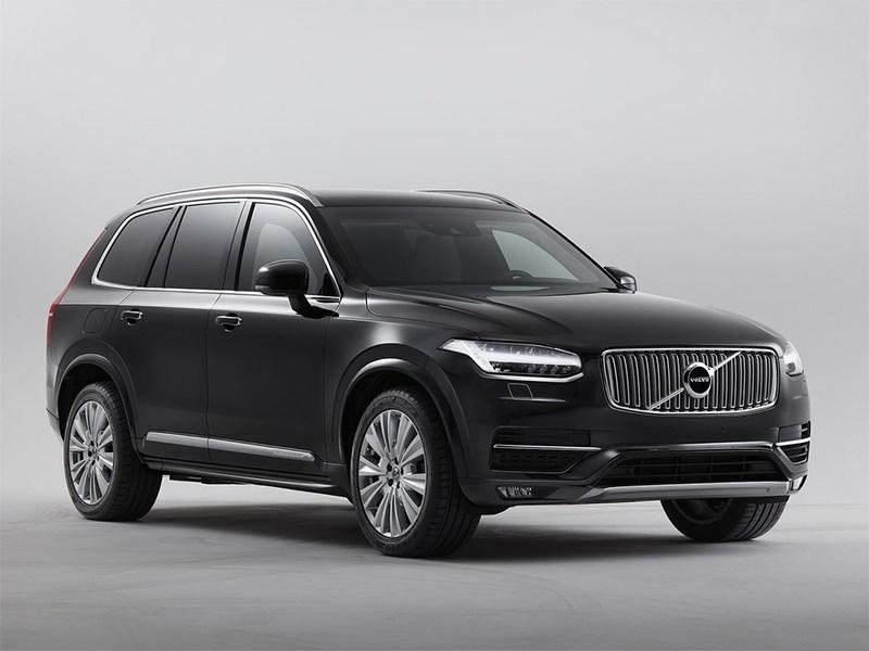 Volvo представила броневик класса люкс