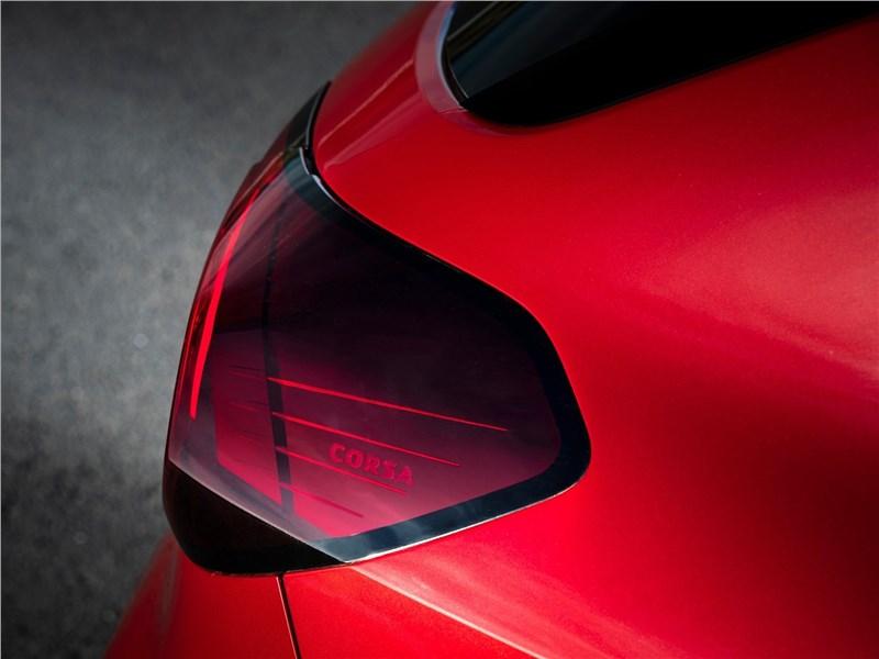 Opel Corsa 2020 задний фонарь