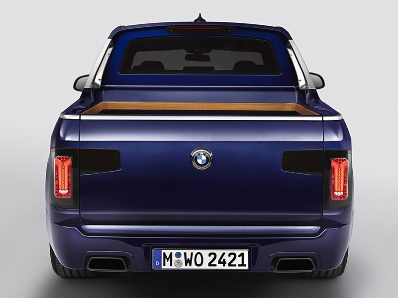 BMW X7 превратили в пикап Фото Авто Коломна