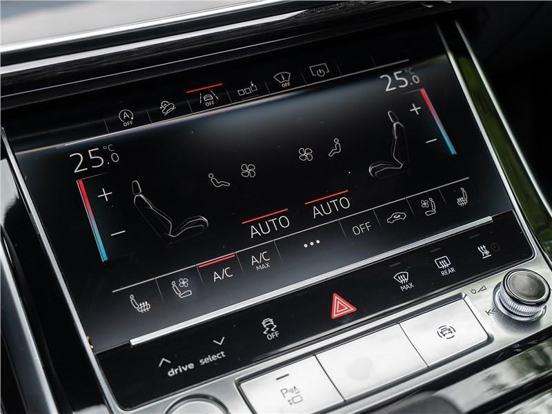 Audi Q8 2019 нижний монитор