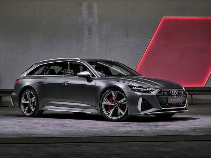 Представлен новый Audi RS6 Avant Фото Авто Коломна