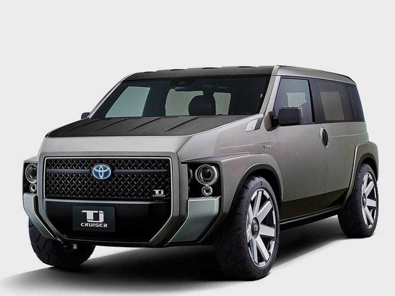 Серийный Toyota Tj Cruiser будет представлен в октябре Фото Авто Коломна